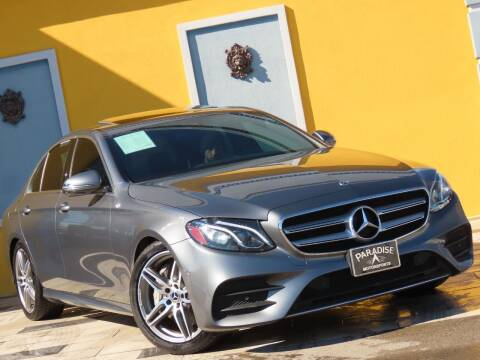 2018 Mercedes-Benz E-Class for sale at Paradise Motor Sports LLC in Lexington KY