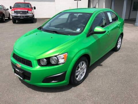 2016 Chevrolet Sonic for sale at TacomaAutoLoans.com in Tacoma WA