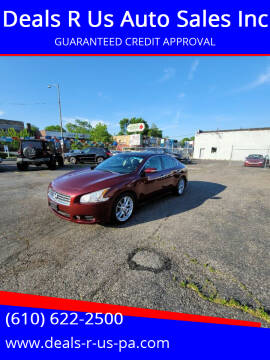 2011 Nissan Maxima for sale at Deals R Us Auto Sales Inc in Lansdowne PA