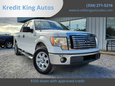 2011 Ford F-150 for sale at Kredit King Autos in Montgomery AL