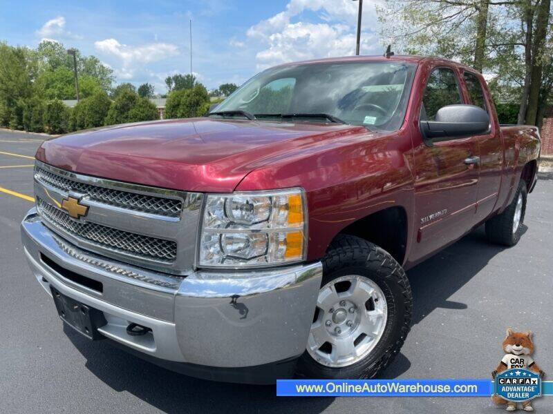 2013 Chevrolet Silverado 1500 for sale at IMPORTS AUTO GROUP in Akron OH