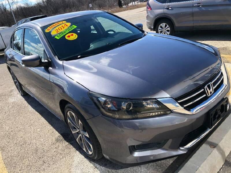 2014 Honda Accord for sale at Jose's Auto Sales Inc in Gurnee IL