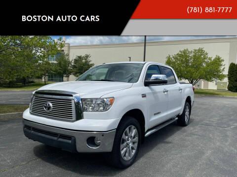 2013 Toyota Tundra for sale at Boston Auto Cars in Dedham MA