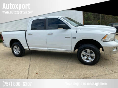 2011 RAM Ram Pickup 1500 for sale at Autoxport in Newport News VA
