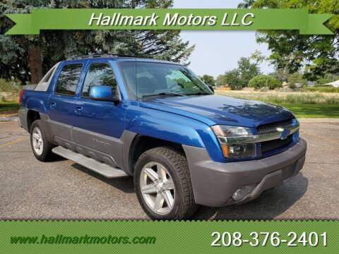 2003 Chevrolet Avalanche for sale at HALLMARK MOTORS LLC in Boise ID