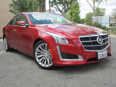2014 Cadillac CTS for sale at ORANGE COUNTY AUTO WHOLESALE in Irvine CA