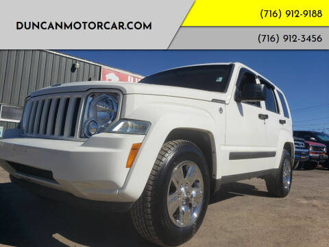 2010 Jeep Liberty for sale at DuncanMotorcar.com in Buffalo NY