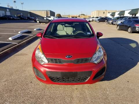 2013 Kia Rio 5-Door for sale at Image Auto Sales in Dallas TX