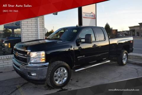 2013 Chevrolet Silverado 2500HD for sale at All Star Auto Sales in Pleasant Grove UT