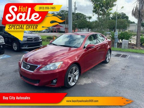 2012 Lexus IS 250 for sale at Bay City Autosales in Tampa FL