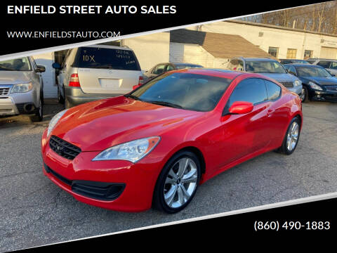 2012 Hyundai Genesis Coupe for sale at ENFIELD STREET AUTO SALES in Enfield CT
