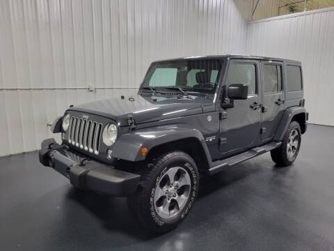 2016 Jeep Wrangler Unlimited for sale at Elhart Automotive Campus in Holland MI