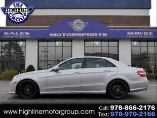 2011 Mercedes-Benz E-Class for sale at Highline Group Motorsports in Lowell MA