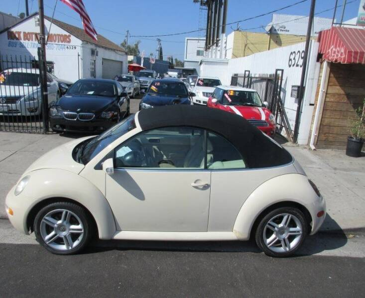 2005 Volkswagen New Beetle Convertible for sale in North Hollywood, CA