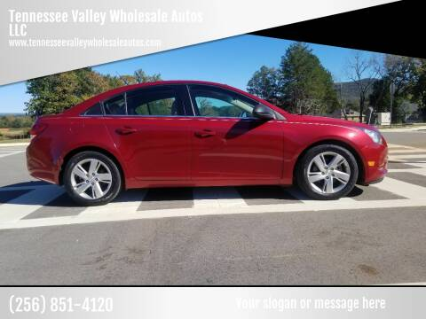 2014 Chevrolet Cruze for sale at Tennessee Valley Wholesale Autos LLC in Huntsville AL