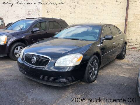 2006 Buick Lucerne for sale at MIDWAY AUTO SALES & CLASSIC CARS INC in Fort Smith AR