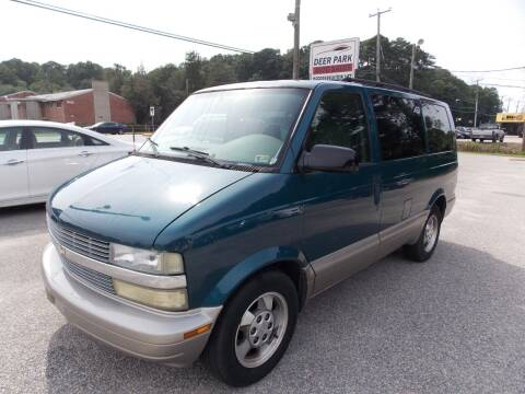 2003 Chevrolet Astro for sale at Deer Park Auto Sales Corp in Newport News VA