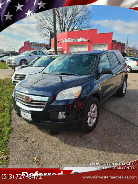 """2009 Saturn Outlook for sale at MIDWESTERN AUTO SALES        """"The Used Car Center"""" in Middletown OH"""
