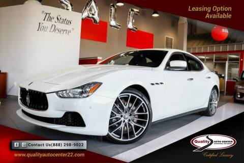 2016 Maserati Ghibli for sale at Quality Auto Center of Springfield in Springfield NJ