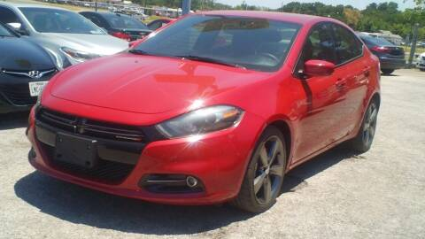 2015 Dodge Dart for sale at Global Vehicles,Inc in Irving TX