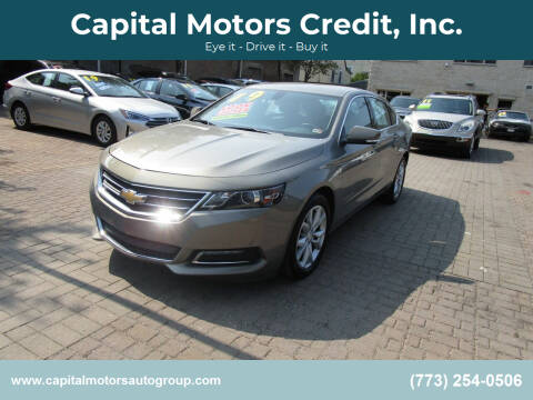 2019 Chevrolet Impala for sale at Capital Motors Credit, Inc. in Chicago IL
