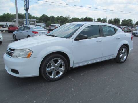 2013 Dodge Avenger for sale at Blue Book Cars in Sanford FL