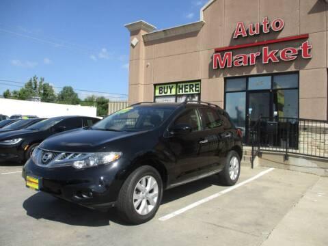2014 Nissan Murano for sale at Auto Market in Oklahoma City OK