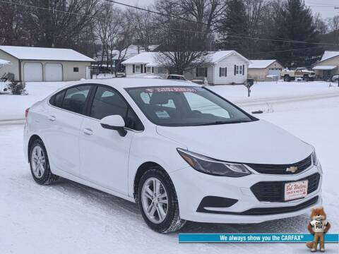 2017 Chevrolet Cruze for sale at Bob Walters Linton Motors in Linton IN
