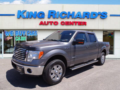 2011 Ford F-150 for sale at KING RICHARDS AUTO CENTER in East Providence RI