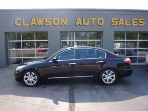 2009 Hyundai Genesis for sale at Clawson Auto Sales in Clawson MI