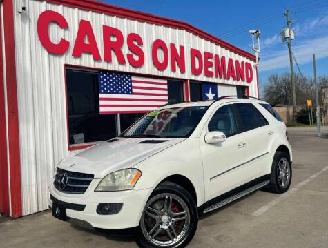 2006 Mercedes-Benz M-Class for sale at Cars On Demand 3 in Pasadena TX