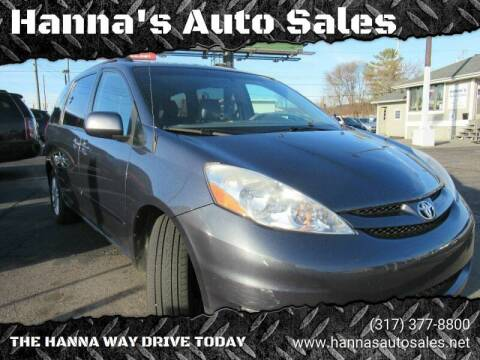 2009 Toyota Sienna for sale at Hanna's Auto Sales in Indianapolis IN