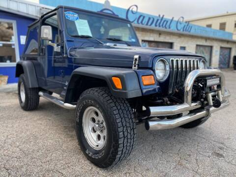 2004 Jeep Wrangler for sale at Capital City Automotive in Austin TX