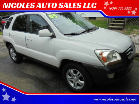2005 Kia Sportage for sale at NICOLES AUTO SALES LLC in Cream Ridge NJ