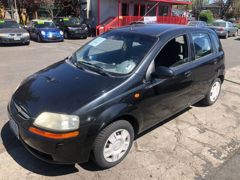 2004 Chevrolet Aveo for sale at Blue Line Auto Group in Portland OR
