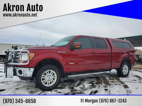 2014 Ford F-150 for sale at Akron Auto in Akron CO