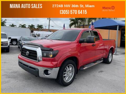 2007 Toyota Tundra for sale at MANA AUTO SALES in Miami FL