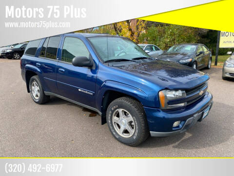 2004 Chevrolet TrailBlazer for sale at Motors 75 Plus in Saint Cloud MN