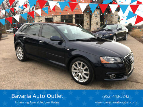 2011 Audi A3 for sale at Bavaria Auto Outlet in Victoria MN