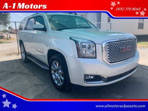 Used Gmc Yukon For Sale In El Paso Tx Carsforsale Com