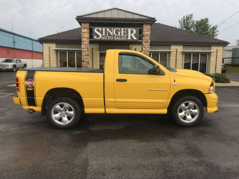 2005 Dodge Ram Pickup 1500 for sale at Singer Auto Sales in Caldwell OH