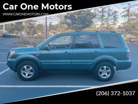 2006 Honda Pilot for sale at Car One Motors in Seattle WA
