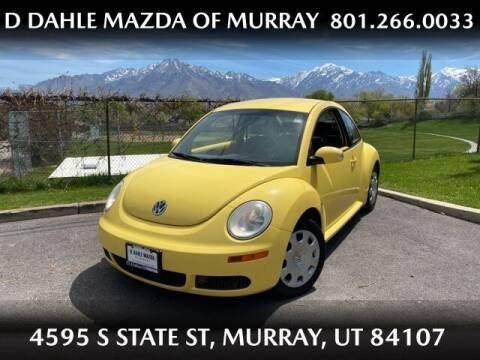 2010 Volkswagen New Beetle for sale at D DAHLE MAZDA OF MURRAY in Salt Lake City UT