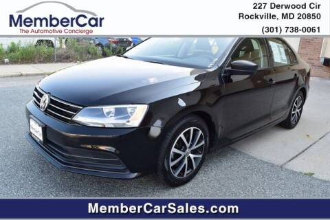2016 Volkswagen Jetta for sale at MemberCar in Rockville MD