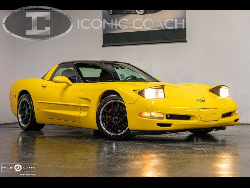 2001 Chevrolet Corvette for sale at Iconic Coach in San Diego CA
