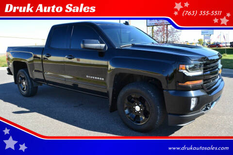 2018 Chevrolet Silverado 1500 for sale at Druk Auto Sales in Ramsey MN