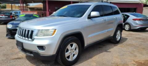 2012 Jeep Grand Cherokee for sale at Fast Trac Auto Sales in Phoenix AZ