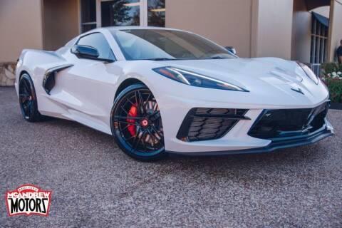 2021 Chevrolet Corvette for sale at Mcandrew Motors in Arlington TX