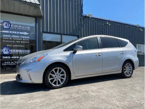 2012 Toyota Prius v for sale at Chehalis Auto Center in Chehalis WA