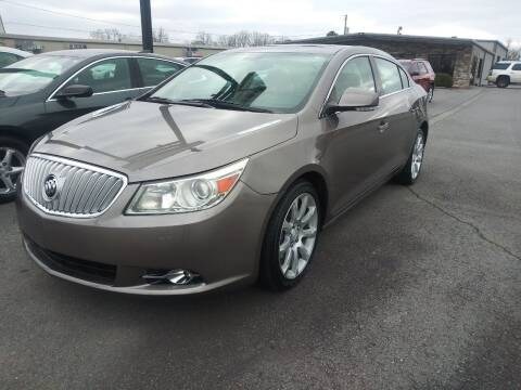 2012 Buick LaCrosse for sale at Auto Credit Xpress in North Little Rock AR